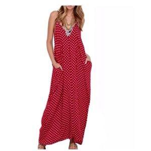 Dresses & Skirts - ❣️Beach Babe Maxi Dress with POCKETS❣️